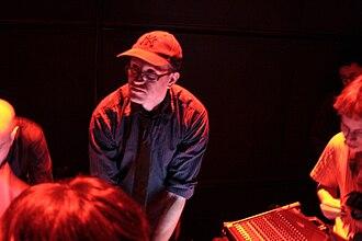 Robert Henke - Robert Henke during an Atom live performance
