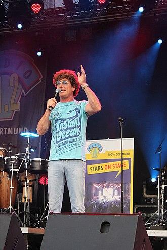 German humour - Atze Schröder, a German comedian on a live show 2010