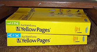 Yellow pages - Auckland 2004 Yellow Pages