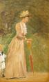 August Jerndorff - Kronprinsesse Louise med Prins Gustav i Slotsparken.png