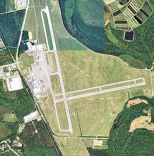 Public airport near Augusta, GA, US