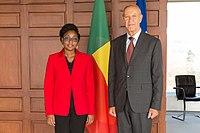 Aurélie Adam Soule Zoumarou WIPO Director General Welcomes Benin Minister.jpg