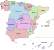 Autonomous communities of Spain.svg