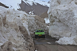 Avalanche in Nesa Rural District - March 2011