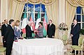 Award ceremony was held as part of Italian President's official visit to Azerbaijan 8.jpg