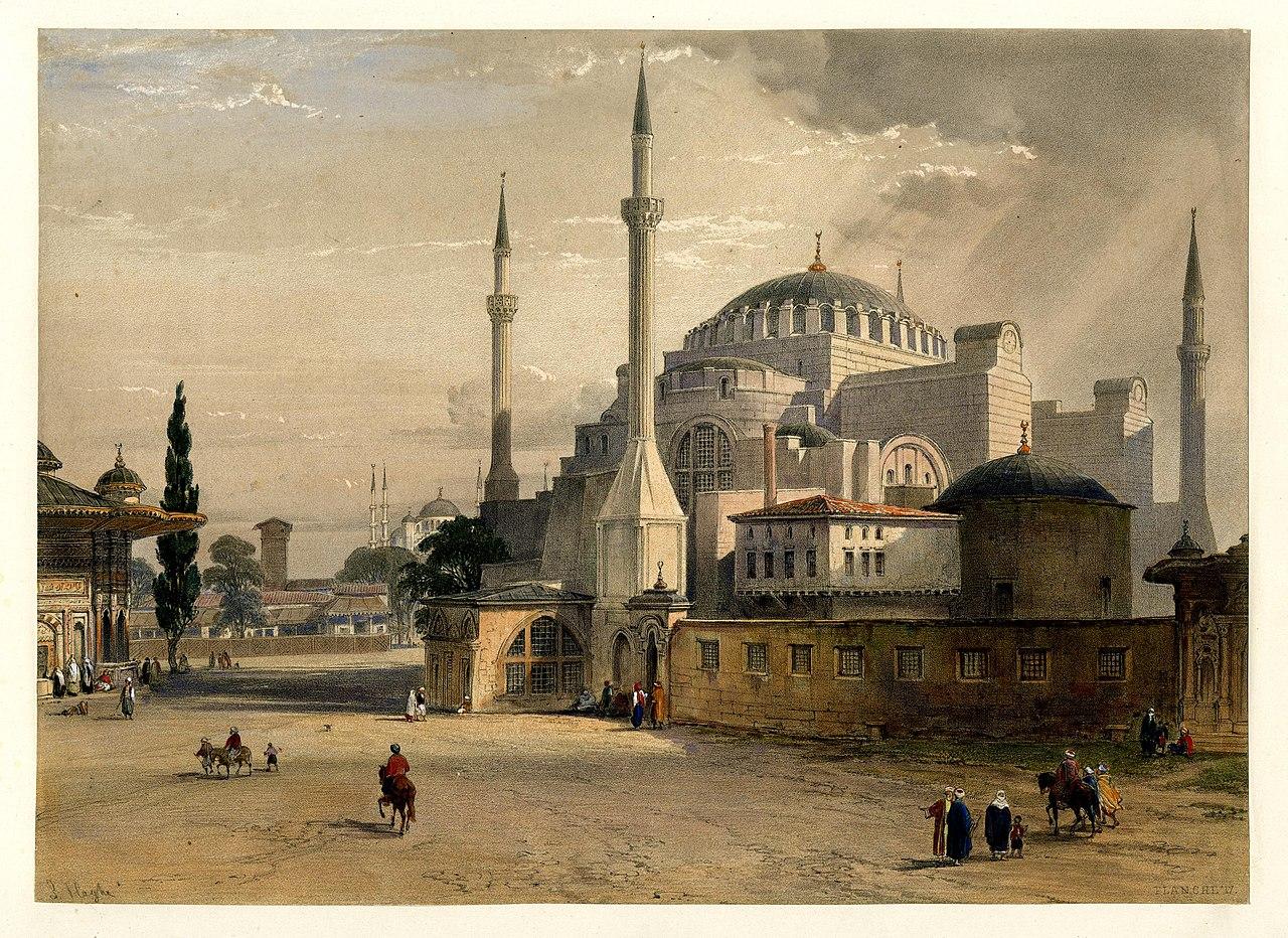Айя София, Константинополь (BM 1889,0603.107) .jpg