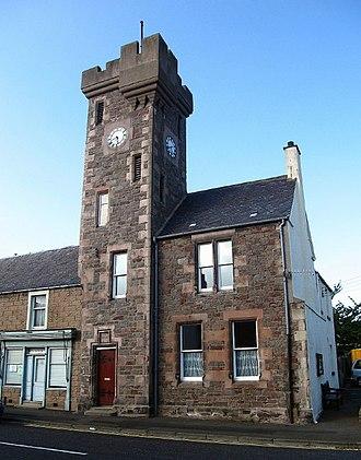 Ayton, Scottish Borders - Clock Tower House at Ayton.