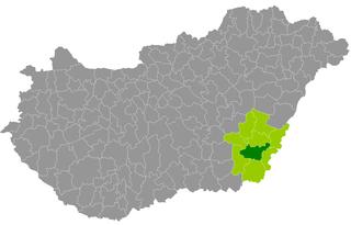 Békéscsaba District Districts of Hungary in Békés