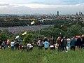 Błonia w czasie wizyty Benedykta XVI w 2006r. - panoramio.jpg