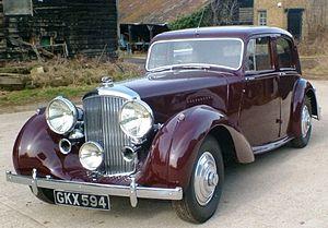 Bentley Mark V - Image: B24AW