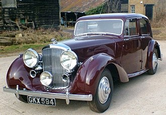 Bentley Mark V - Image: B24AW