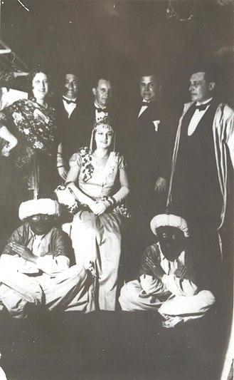 Miss Bulgaria - Miss Bulgaria 1929 ceremony