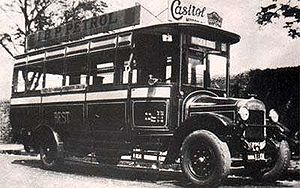Brihanmumbai Electric Supply and Transport - The city's first bus in 1926.