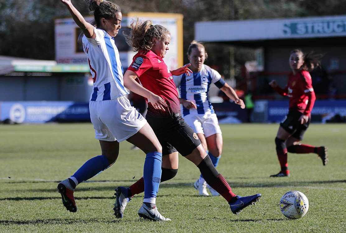 BHA Women 0 Man Utd Women 2 WFAC 4th rd 03 02 2019-705 (46986339461).jpg