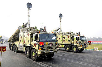 BrahMos - BrahMos missiles of the Indian Army, mounted on Tatra 816-based Mobile Autonomous Launchers (MAL).