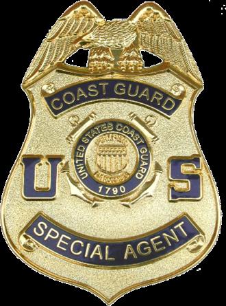 Coast Guard Investigative Service - Image: Badge of the Coast Guard Investigative Service
