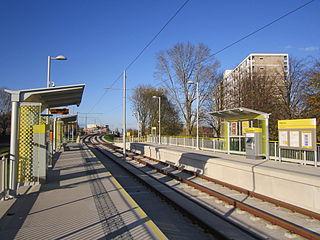 Baguley tram stop