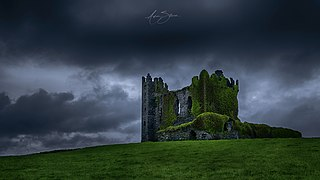 Ballycarbery Castle Castle in County Kerry, Ireland