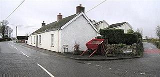 Ballyeaston village in the United Kingdom