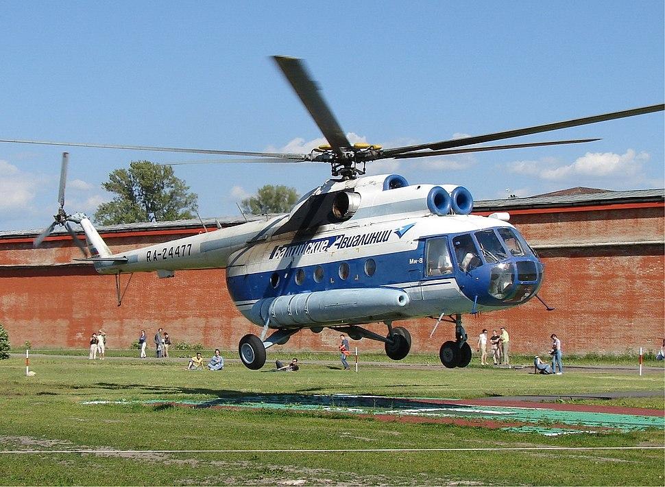 Baltic Airlines Mil Mi-8 Aladyshkin