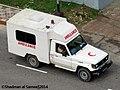 Bangladesh Army Toyota LC70 Ambulance (22997222773).jpg