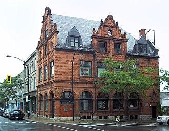 Bank of Montreal National Historic Site - Image: Banque de Montreal Notre Dame et des Seigneurs 04