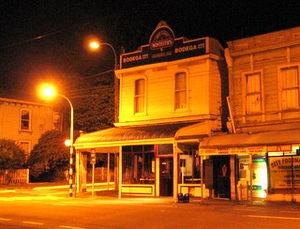 Bar Bodega - Original site of Bar Bodega, Wellington.