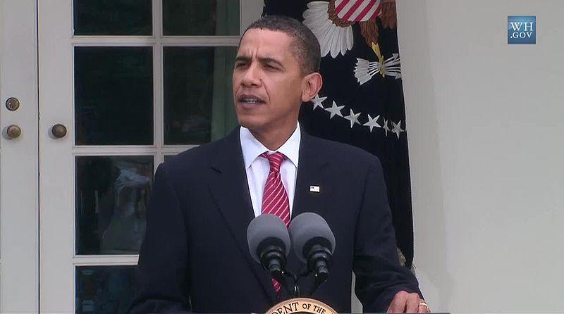 File:Barack Obama at 2009-10-02 press conference on Chicago's 2016 Summer Olympics bid 2.jpg