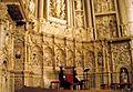 Barbastro - Catedral, Retablo Mayor 2 (predela de Damian Forment).JPG