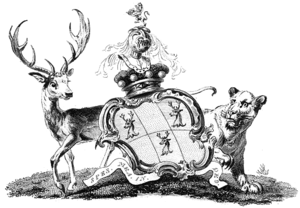 Baron Teynham - Arms of the Barons Teynham.