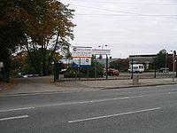 Barr's hill school gates coventry 7o07.JPG