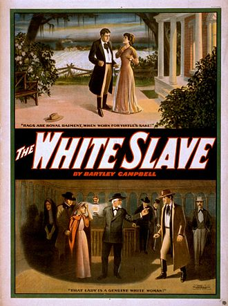 Bartley Campbell - The White Slave