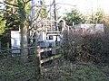 Base of a phone mast near 'Stripes Hill' - geograph.org.uk - 2227793.jpg