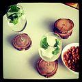 Basil sake rum spritzers (5483560257).jpg