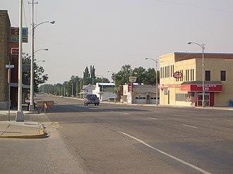 Basin, Wyoming - Downtown Basin, Wyoming
