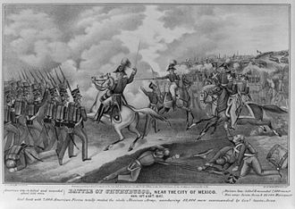 Battle of Churubusco - Image: Batalla de Churubusco 19 y 20 de agosto de 1847