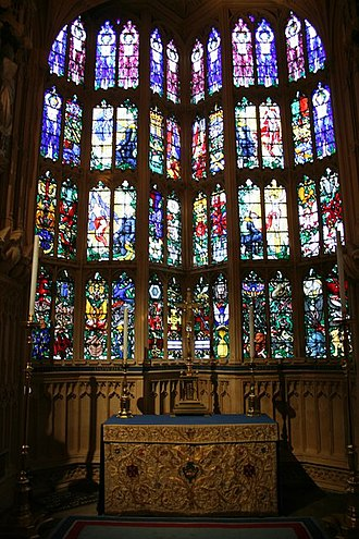 Hugh Ray Easton - Battle of Britain Memorial Window in Westminster Abbey