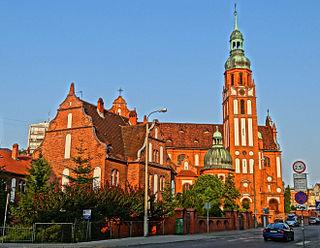 Church in Bydgoszcz, Poland