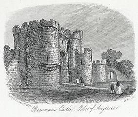 Beaumaris Castle, Isle of Anglesea