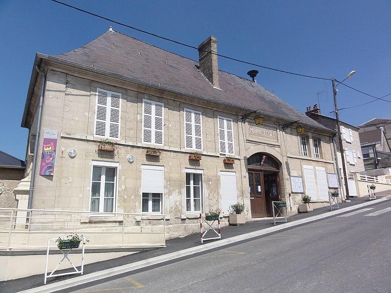 Beaurieux (Aisne) Mairie