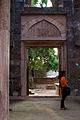 Beautiful doorways inside the Hindola-Mahal (5102901667).jpg