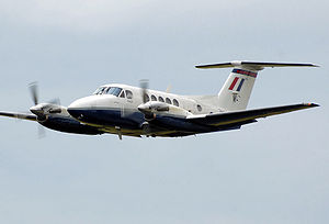 Oklahoma State Cowboys basketball team plane crash - Beechcraft Super King Air 200 similar to accident aircraft