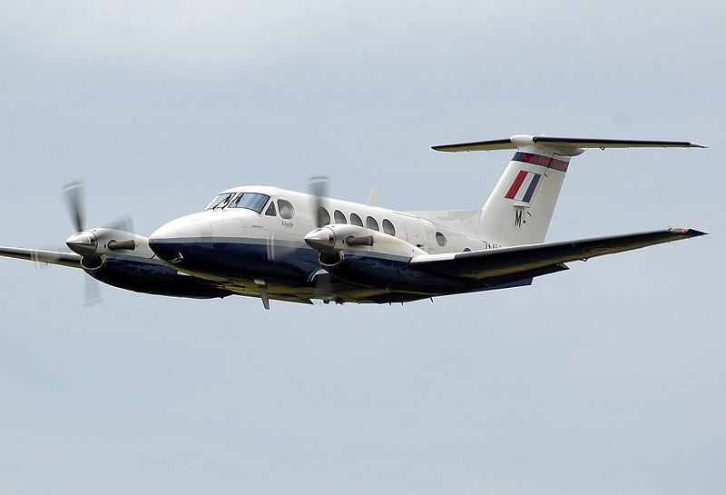 File:Beechcraft b200 superkingair zk453 arp.jpg