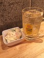 Beef steak, potato salad, pot-au-feu, and highball - Beaf Kitchen Stand, APA Hotel Akihabara shop (2017-04-15 18.20.32 by Naoki Nakashima).jpg