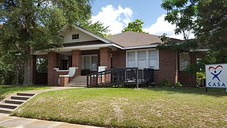 National Register of Historic Places listings in Angelina County, Texas - Image: Behannon Kenley House, Lufkin, TX