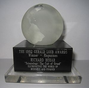 Gerald Loeb Award cover