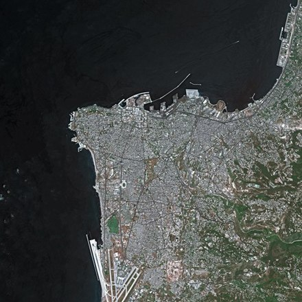 Beirut seen from SPOT satellite Beirut SPOT 1113.jpg