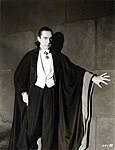 Bela Lugosi as Dracula, anonymous photograph from 1931, Universal Studios