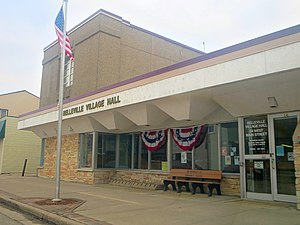 Administrative divisions of Wisconsin - Belleville Village Hall - panoramio
