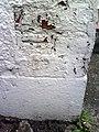 Benchmark on ^157 Upminster Road South - geograph.org.uk - 2178414.jpg